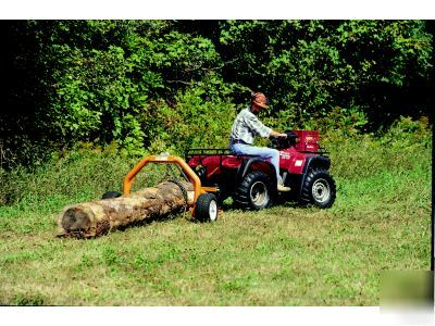 Atv Logging Forestry Equipment http://www.hutsvilleads.com/Downtown-Area/2003/Atv-log-skidder-choker-chain-forestry-skidding-tree.asp