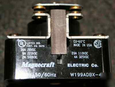 Magnecraft Electric Ac Dc Power Relay W199adbx 4