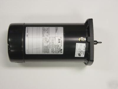 Sta rite 1hp square flange pump motor for Sta rite well pump motor