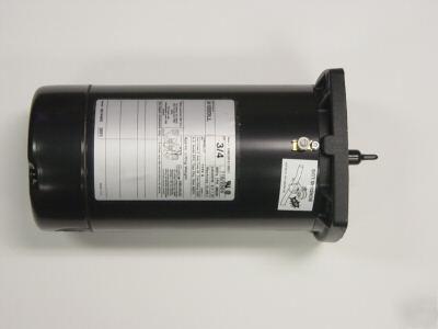 Sta rite 1hp square flange pump motor for Sta rite pump motor