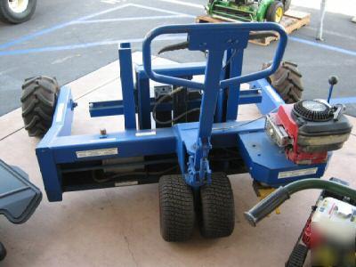 New All Terrain Pallet Powered Truck Jack Fork Lift