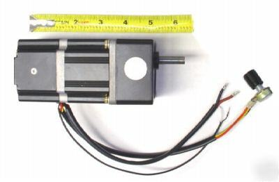 Brushless dc gear motor 12v variable speed 40 rpm 6 n m for Variable speed electric motor low rpm