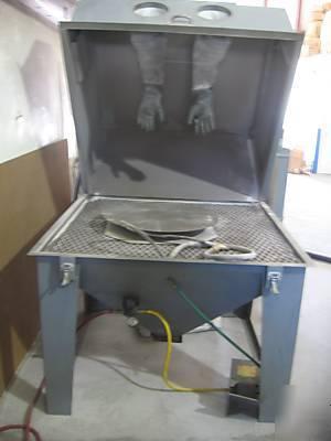 Trinco Master Model 48x48 Blast Cabinet