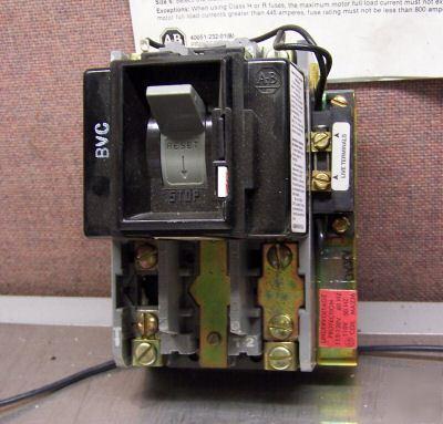 Allen Bradley 609t Aoxd Size 0 Manual Motor Starter
