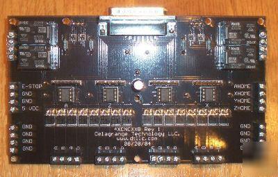 4 axis 10 amp stepper motor cnc drive i o for 4 amp stepper motor driver