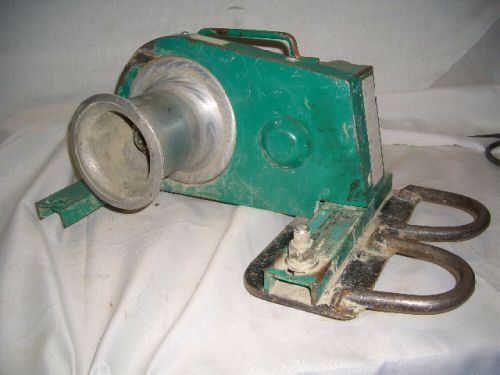 Electric Cable Puller : Greenlee electric cable puller