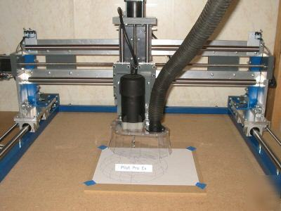 Pilot pro cnc router plans and projects