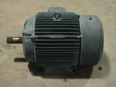 Reliance Electric Motor 40 Hp 40hp 324t 1765 Rpm Dual V