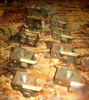 Vintage antique shaper head moulder cutter tool lot