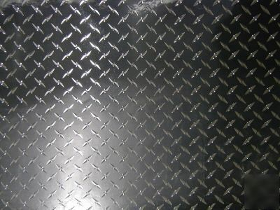 4 X8 Diamond Plate Plastic Sticker Decal Sheet