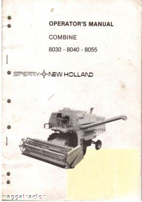 new holland 8030 8040 8050 combine owners manual rh hutsvilleads com new holland t8040 manual New Holland 140Tl Manuals