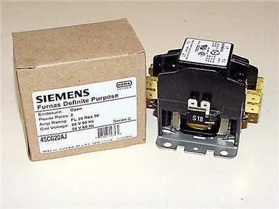 Siemens Furnas Definite Purpose Contactor 45CG20AJ