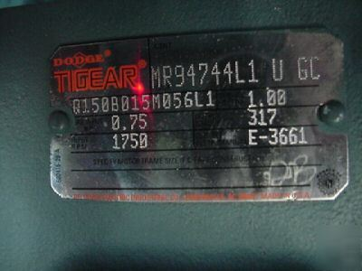 New Dodge Tigear Speed Reducer Gearbox 15 1 Ratio