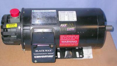 New marathon 1 5 hp ac inverter duty motor 145thtr5326 for Marathon inverter duty motor
